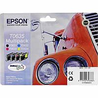 Комплект струйных картриджей Epson для Stylus C67/CX3700/CX4700 B/C/M/Y