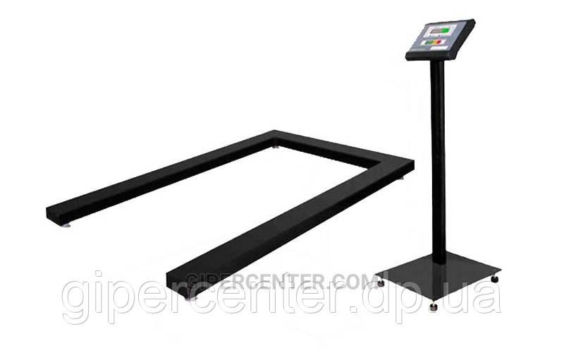 Весы паллетные Промприбор ВН-1500-4-П (Ethernet) до 1500 кг, точность 500 г