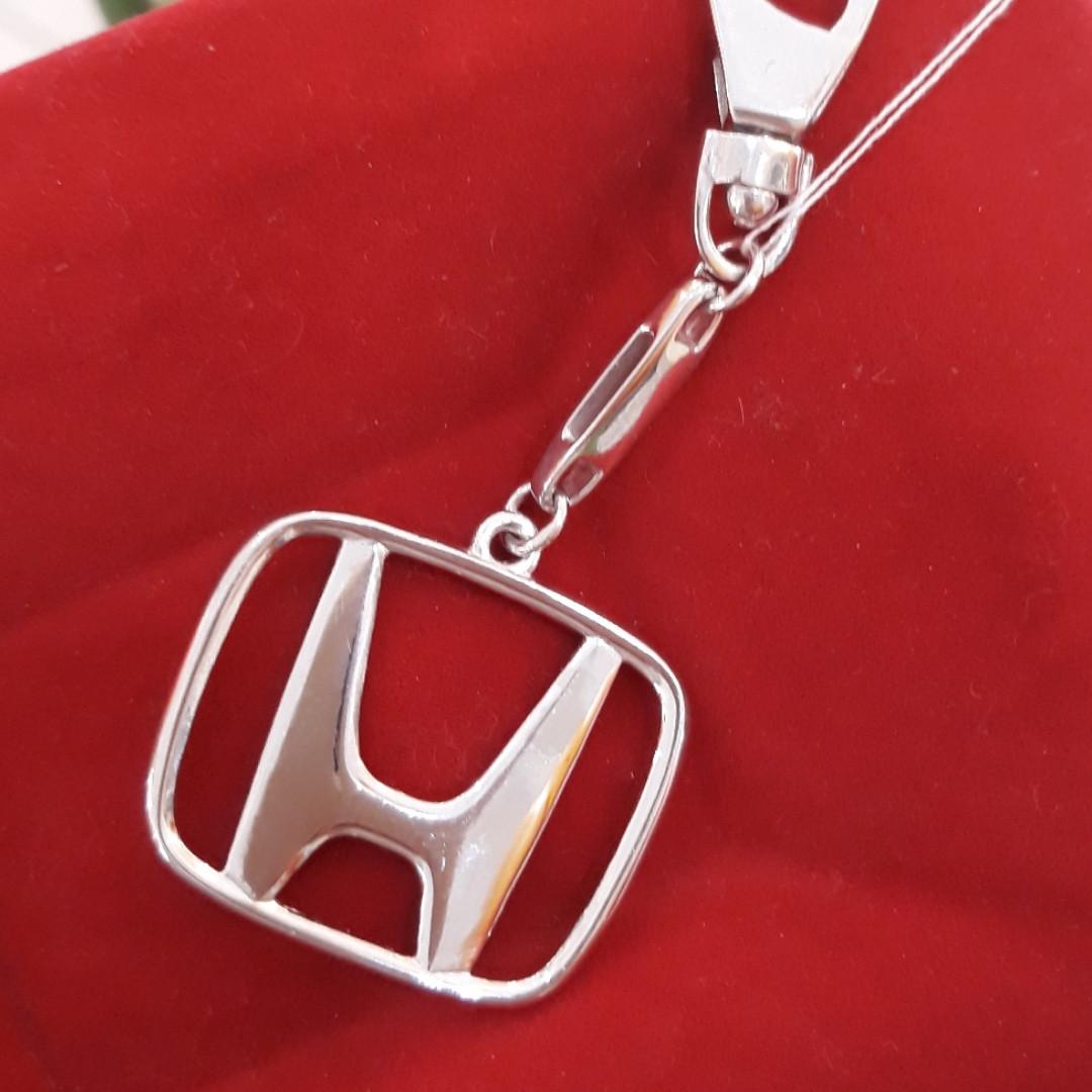 Серебряный брелок Хонда - Хонда брелок серебро
