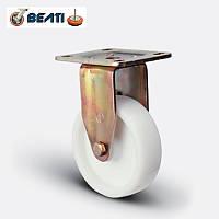 Колеса неповоротные большегрузные для тележек полиамид 100мм