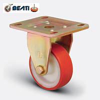Колеса неповоротные большегрузные для тележек полиамид-полиуретан 200мм