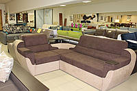 Угловой диван с нишей для белья