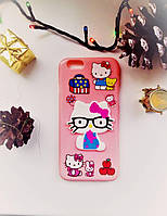 Силиконовый чехол Hello Kitty iPhone 6/6S
