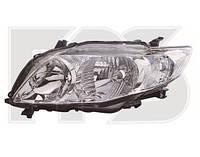 Фара левая  Toyota CorollaE15 06-09