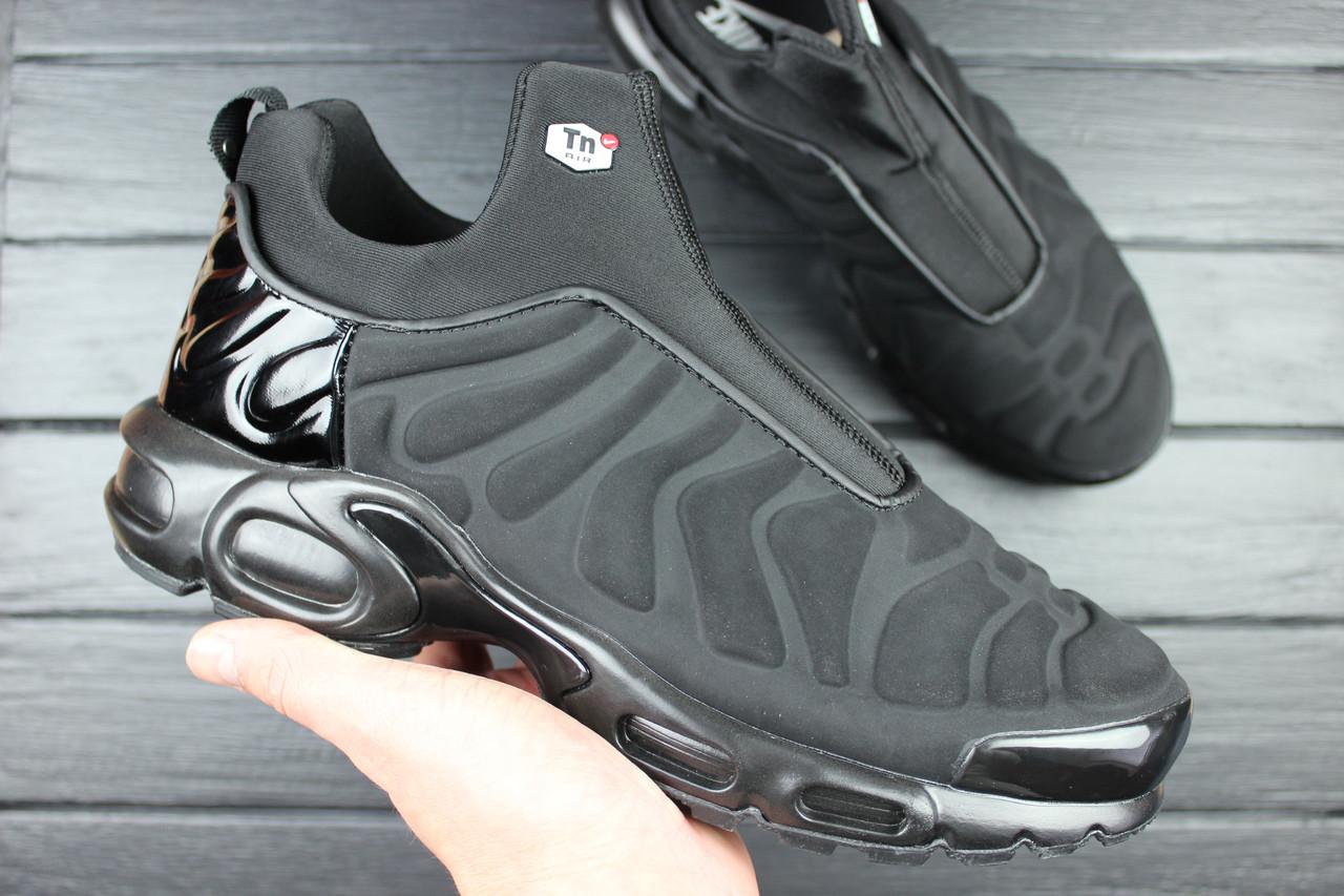 low priced 81a71 af373 Кроссовки мужские Nike Air Max Plus Slip SP TN Black (Найк Аир Макс Плюс  Слип