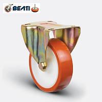 Колеса неповоротные большегрузные для тележек полиамид-полиуретан 100мм