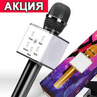 Микрофон c караоке Bluetooth Q7 BLACK