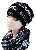 Комплект шапка и шарф Элит, фото 1