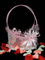 Корзинка для лепестков роз Нежность