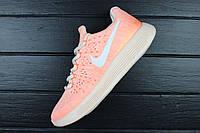 Кроссовки женские Nike LunarEpic Low Flyknit 2 IWD Barely Orange / NKR-1243 (Реплика)