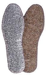 Стельки для обуви «Фольга+войлок», р-р 39