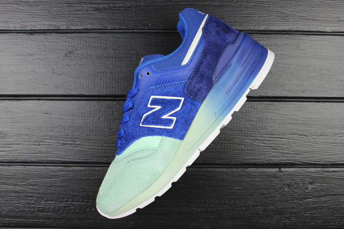 Кроссовки женские New Balance 997 Home Plate Pack Made In USA M997NSB Blue/Turquoise / NBC-1556