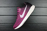 "Кроссовки женские Nike Air Zoom Structure 21 ""Tea Berry/Iced Lilac/Port Wine"" / NKR-706 (Реплика)"