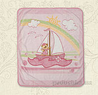 Плед детский Малючок Кораблик Бетис махра