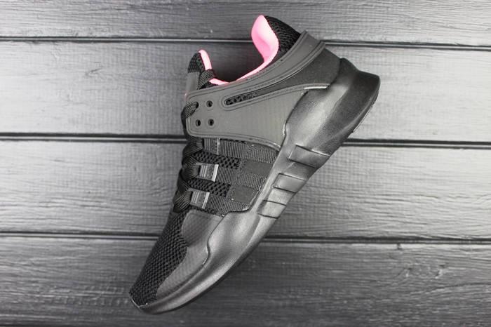 Кроссовки женские Adidas Equipment Support ADV Core Black/Black/Turbo / ADW-1362 (Реплика)