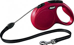 Flexi New Classic (8м,до 12кг,трос) поводок-рулетка для собак