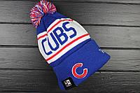 Шапка зимняя Chicago Cubs / SPK-778 (Реплика)