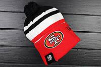 Шапка зимняя San Francisco 49ers / SPK-779 (Реплика)