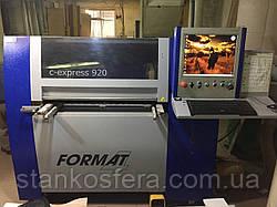 Свердлильно-пазовальный центр з ЧПУ Format4 c-express 920 бо 13г.