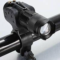 Съемный велосипедный фонарь, велосипедная фара на CREE Q5 LED, крутится на 360°