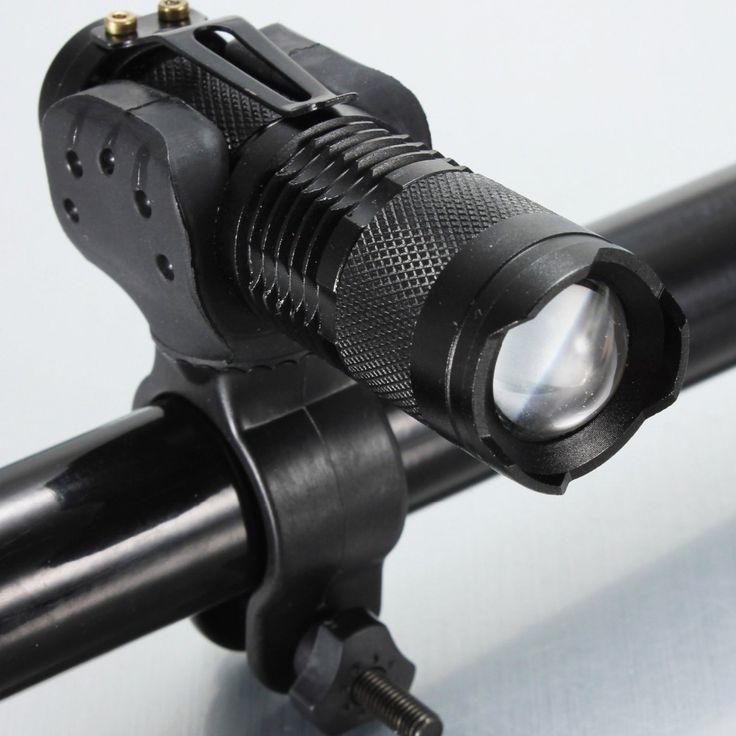 Съемный велосипедный фонарь, велосипедная фара на CREE Q5 LED, крутитс