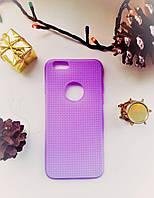 Силиконовый чехол Сетка iPhone 6/6S, фиолетовй