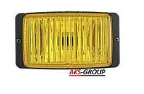 Стекло на фару ближнего света Wesem HM1 138Х78 мм желтое HSJ/004