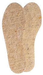 Зимние стельки для обуви из шерсти «Шерсть 100%»