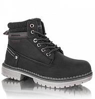 """Зимние детские ботинки (1017/17-1) ТМ """"American Club"""" (черный) размеры 32-36"""