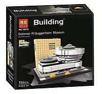 Конструктор Bela 10679 серия Архитектура Музей Соломона Гуггенхейма (аналог Lego Architecture 21035)