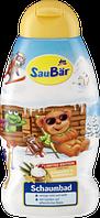 Детская пена для ванны SauBär Schaumbad- Kokosmilch und Vanilleblüten