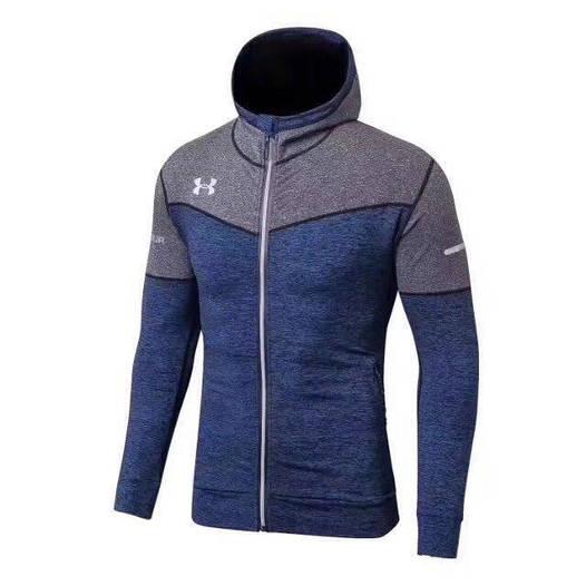 Спортивная кофта Under Armour HeatGear Серый/синий