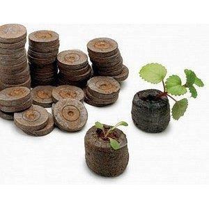 Торфяные таблетки 41мм (38) в оболочке Jiffy, Дания — для выращивания рассады. Высокое качество!!!, фото 2