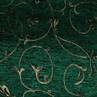 Ткань Шенилл цветочный узор 3