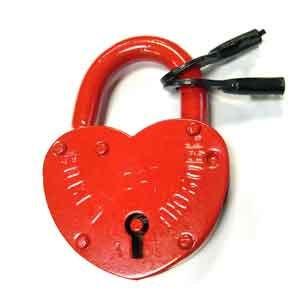 Замочек для влюбленных (70х100, красный)