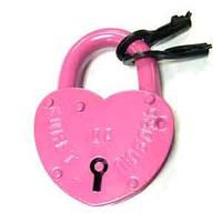 Замочек для влюбленных (70х100, розовый)