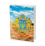 Обложка для паспорта ПВХ с вкладышем PVC/PA0003