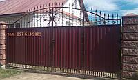 Ворота с калиткой 6750