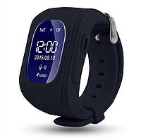 Детские Умные Часы Q50 OLED c GPS, черные  Русифицированные!