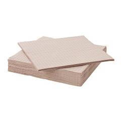 Салфетка бумажная, светло-коричневый, 33x33 см IKEA YPPERLIG 703.465.69