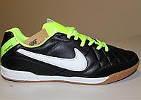 Футбольная обувь для зала Nike Tiempo black smoke