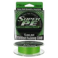 Шнур Sunline Super PE 150м  #0.6(0.128мм) 6LB/3кг (салатный)