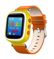 Дитячі розумні годинник Smart Q80S + GPS трекер, жовті, фото 1