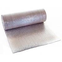Вспененный полиэтилен фольгированный с двух сторон 4 мм (полотно фольгированное с двух сторон 4мм)