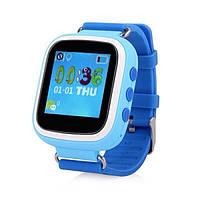 Детские умные Smart часы Q80S + GPS трекер, синие