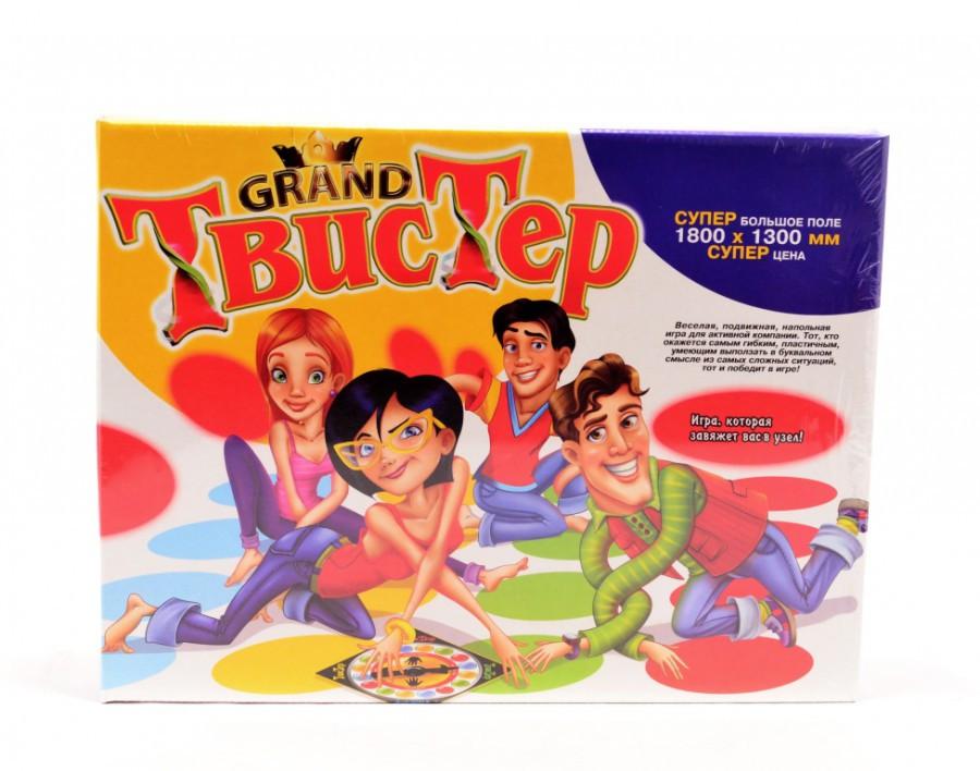 Напольная подвижная развивающая игра Grand Твистер