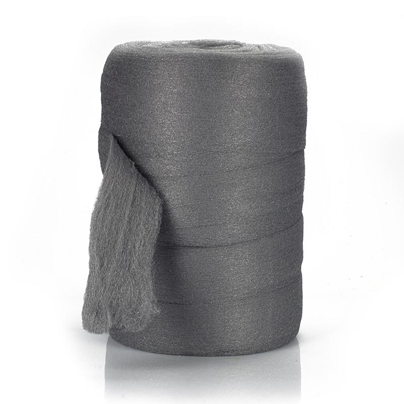 Стальная шерсть, вата ,00, Steel Wool, 5 кг., Borma Wachs