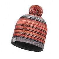 Шапка Junior Knitted&Polar Hat Buff Amity Grey Castlerock