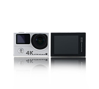 Remax Waterproof Wi-Fi action camera for extremely sports exercise SD-02 Silver (4K-2160p)