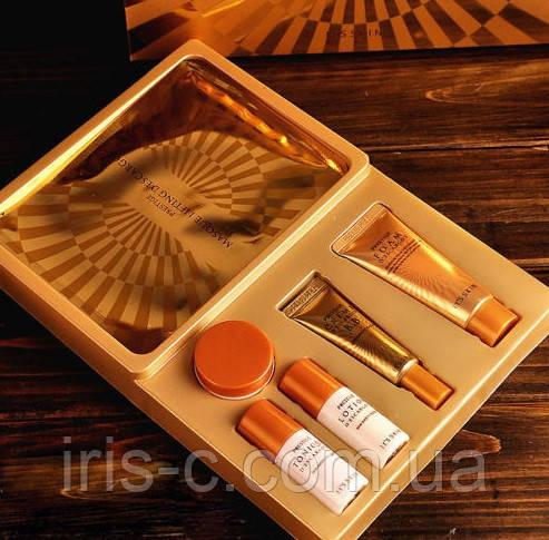Набор косметики улиточной премиум люкс класса It's Skin Prestige D'escargot 20+15+15+10+10+2маски